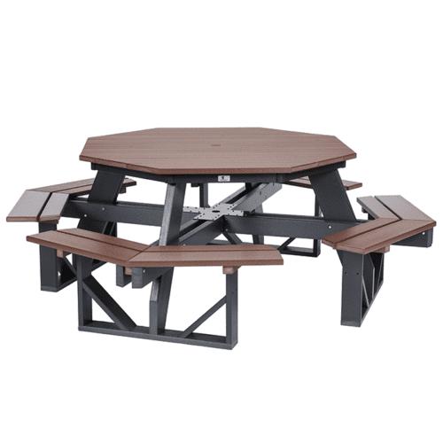 POPT5184-10900-OD04 Octagon Picnic Table