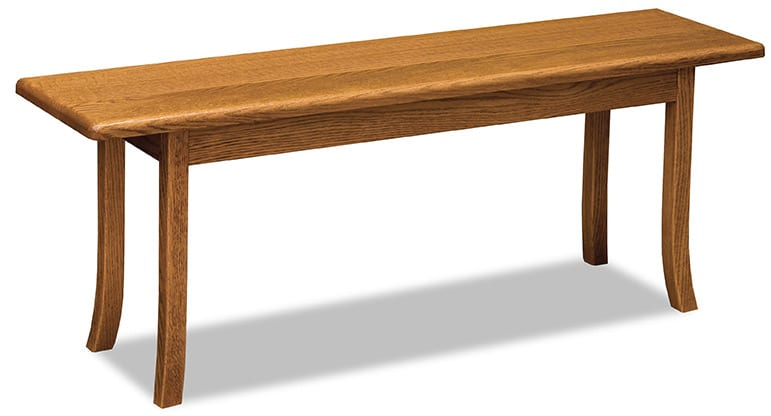 Carlisle Trestle dining bench
