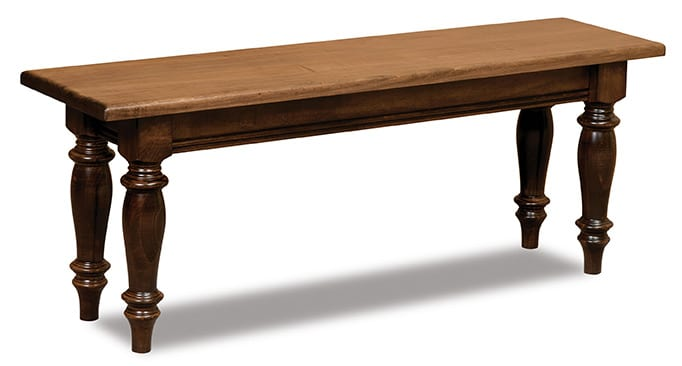 Harvest Trestle dining bench