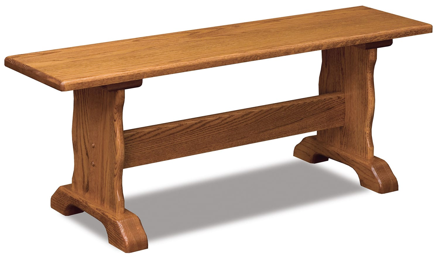 Traditional Trestle dining bench