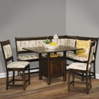 High-Country_Dining-Nook Herron's Amish Furniture