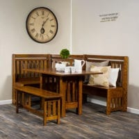 Bay Hill Dining Nook Herron's Amish Furniture