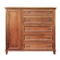 brooklyn gentleman's Chest of Drawers Bedroom Furniture