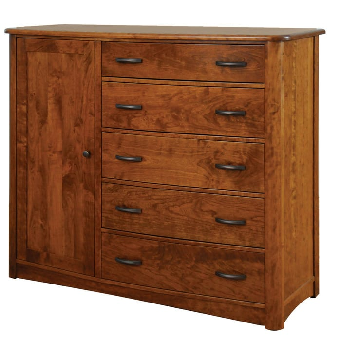 meridian Gentleman's Chest of Drawers Bedroom Furniture