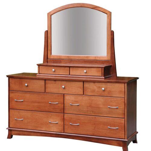 Crescent Tall Dresser with 2-Drawer Jewelry Box - Herron's ...
