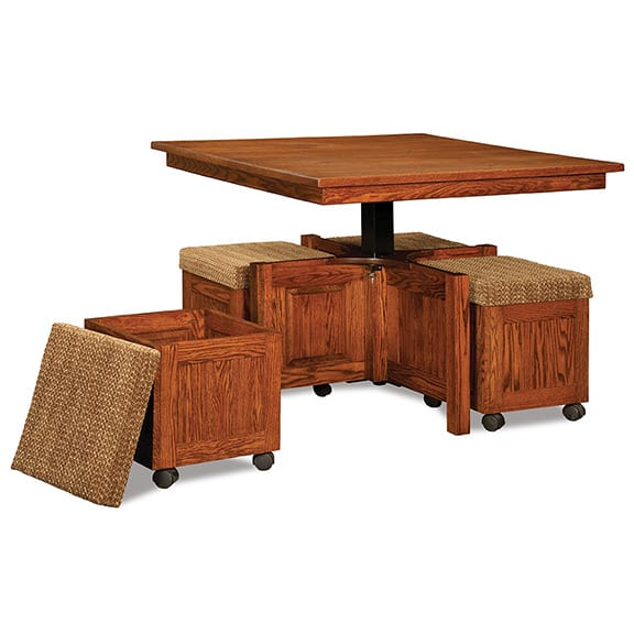 5pc.-Square-Table-Bench-Set–Open