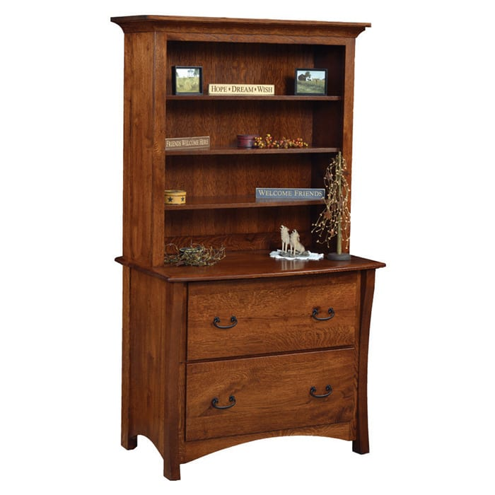 Master Bookcase and Lateral Filing Cabinet