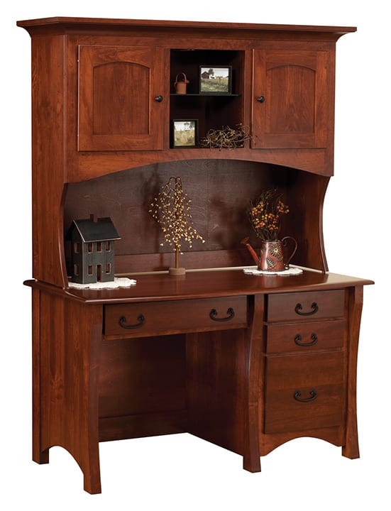 Master Desk with Hutch at Herron's Amish Furniture