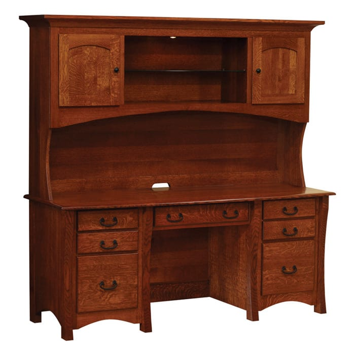Master Desk at Herron's Amish Furniture