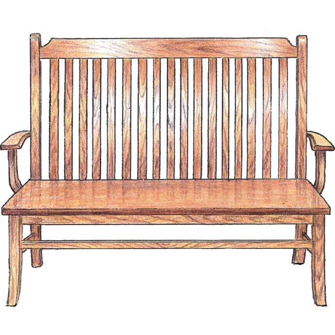 Bench Herron's Amish Furniture