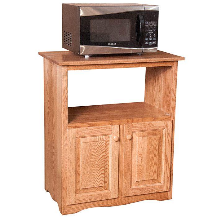Microwave Cart Herron's Amish Furniture