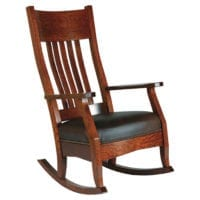 Amish Made Rocking Chairs and Gliders Herron's Amish Furniture