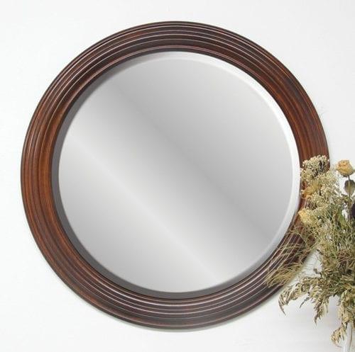 30_ Round Wall Mirror