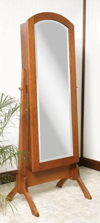 Jewelry Mirror Herron's Amish Furniture