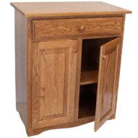 Microwave Stand Herron's Amish Furniture