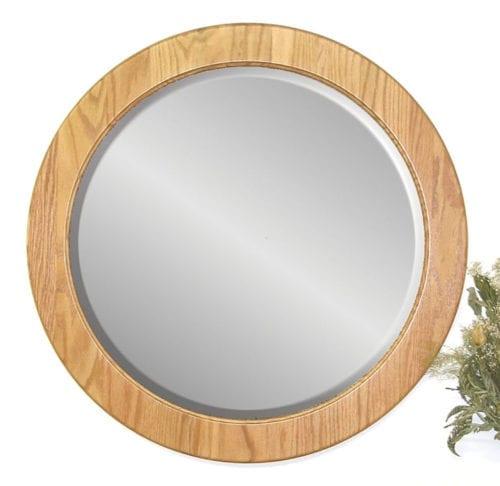 26_ Round Wall Mirror