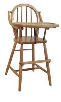 Children's Highchair Herron's Amish Furniture