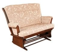 Loveseat Glider Herron's Amish Furniture