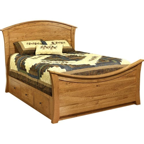 15400-B20-Rainbow-Bed-with-Wood-Panels-and-Drawer-Unit