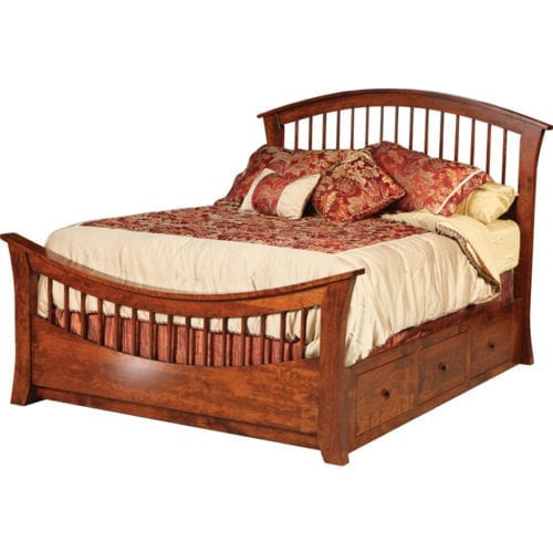 15400-B21-Rainbow-Bed-with-Drawer-Unit