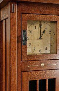 Clock Herron's Amish Furniture