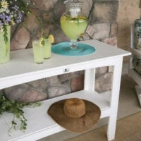 Outdoor buffet table Herron's Amish Furniture