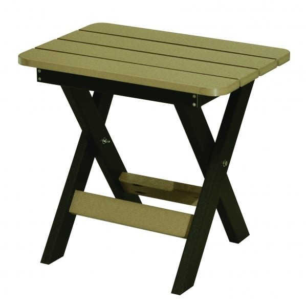 Outdoor Folding end table Herron's Amish Furniture