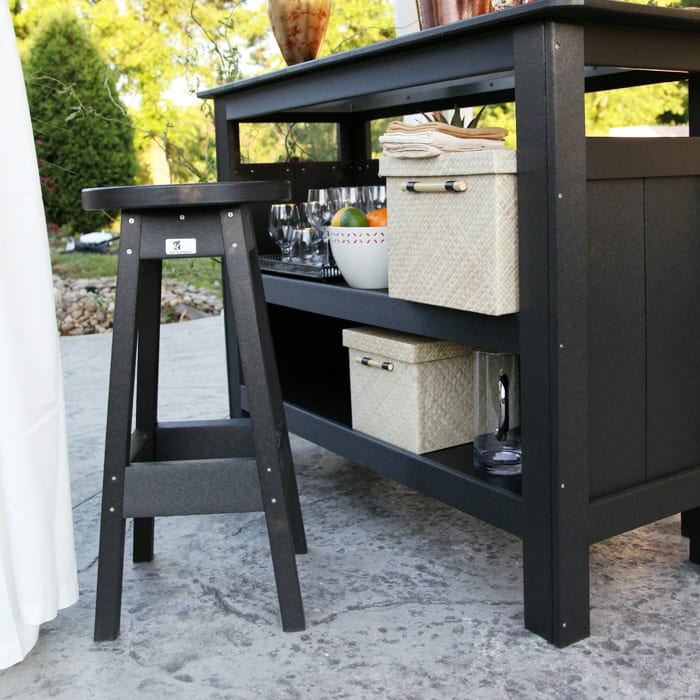 Outdoor bar Herron's Amish Furniture