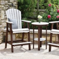 Outdoor counter chair Herron's Amish Furniture
