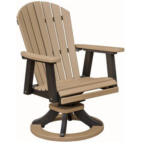 ESDC2127-10900-OD10 ComfoBack Swivel Rocker Dining Chair