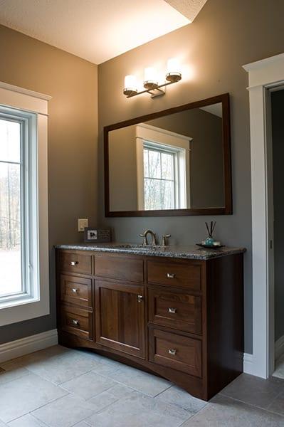 Custom Bathroom Cabinets At Herron's Amish Furniture