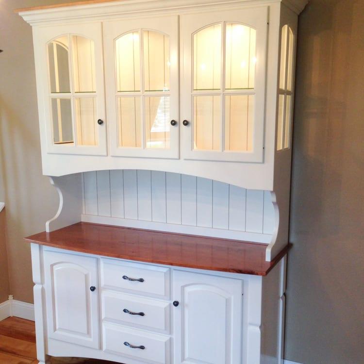 Custom Made Furniture - Dining Hutch