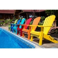Outdoor deck chair Herron's Amish Furniture