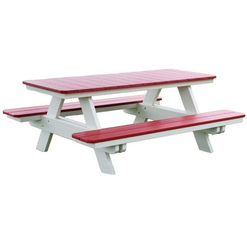 new-10900-OD05 Rectangle Picnic Table