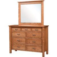 Dresser with mirror Herron's Amish Furniture