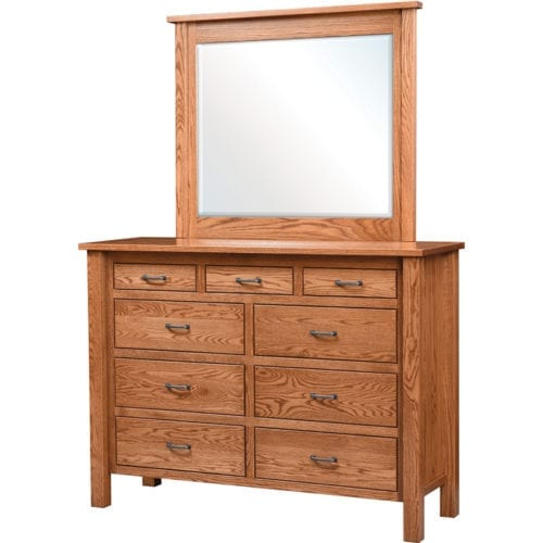 Lindholt HighDresser with Mirror