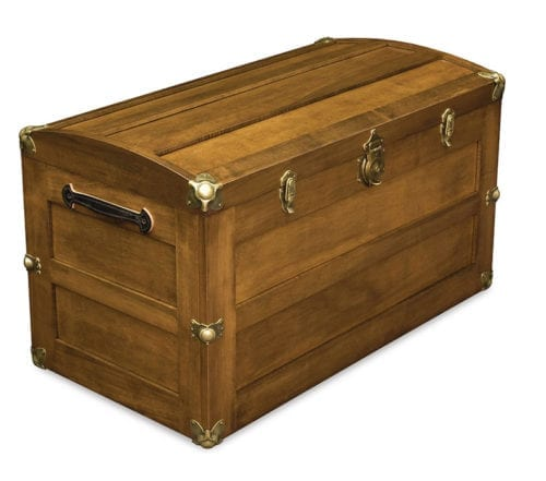 10100-BC05 Trunk with Rounded Lid