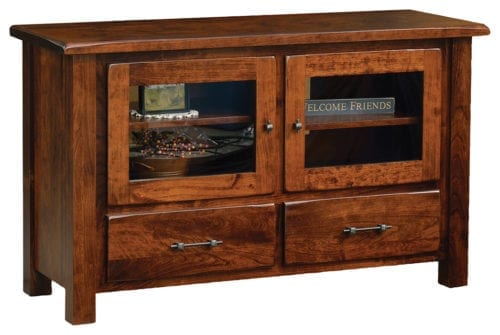 new- 10500-TVS03 barn floor 50 tv stand
