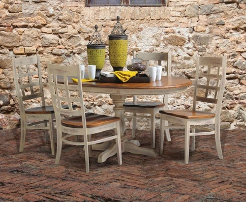 Corabell Dining set with background