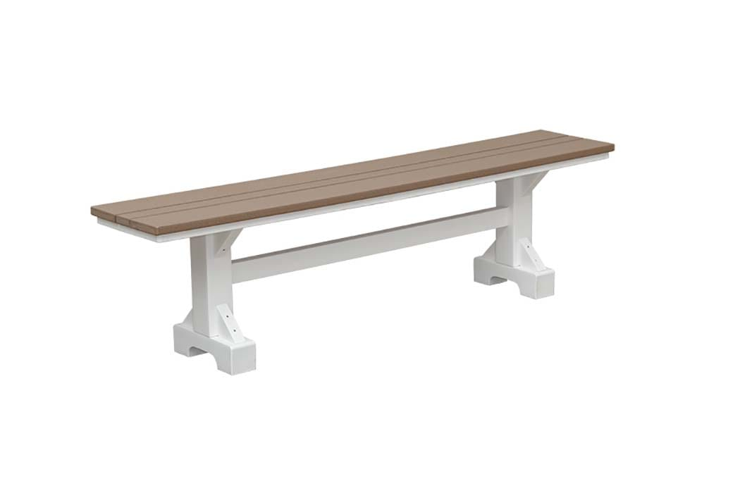 outdoor poly bench herron's amish furniture