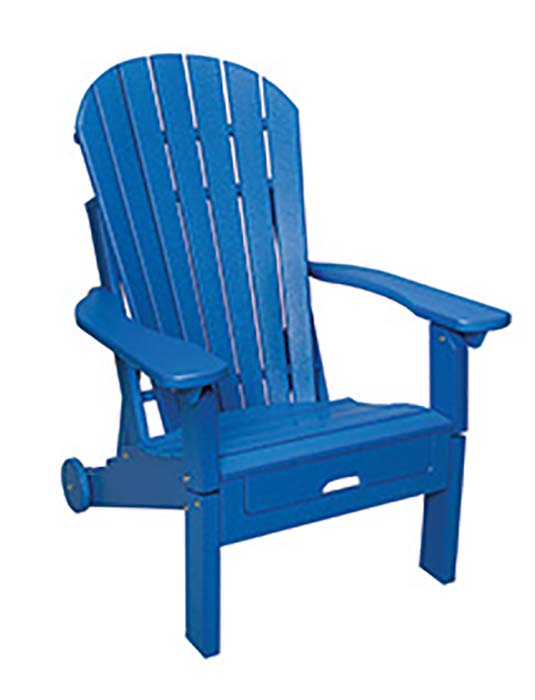Adirondack Reclining with Pullout-closed