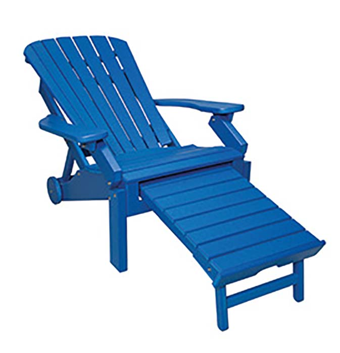 Adirondack Reclining with Pullout-reclined