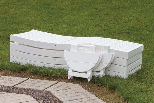 Bayshore Chaise Lounge-folded
