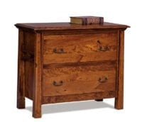 Lateral File Cabinet Herron's Amish Furniture