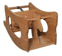 3 in 1 Toy- Rocking Horse Herron's Amish Furniture