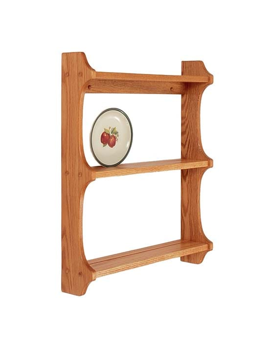 Plate Shelf Herron's Amish Furniture