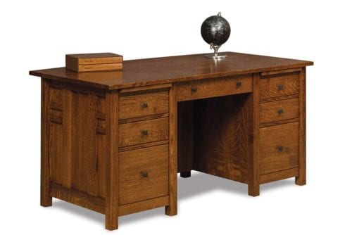 KED111FV-12375-D40 Kascade Executive Desk