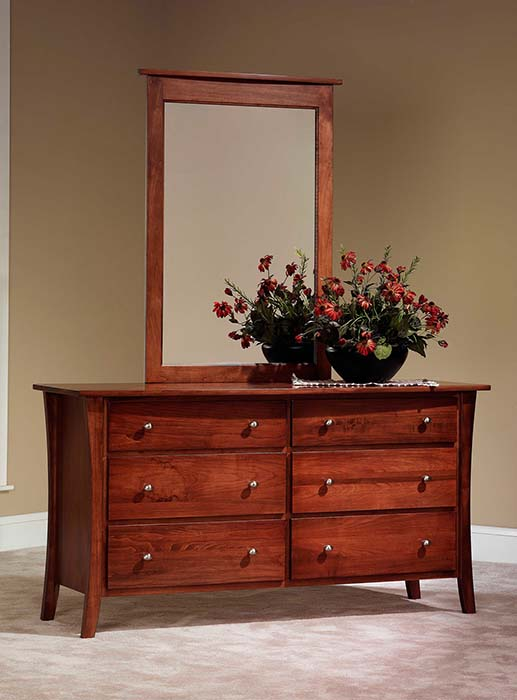 MD19JR-13700-BDR21 Manhattan Dresser with Mirror