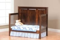 Crib with daybed conversion Herron's Amish Furniture