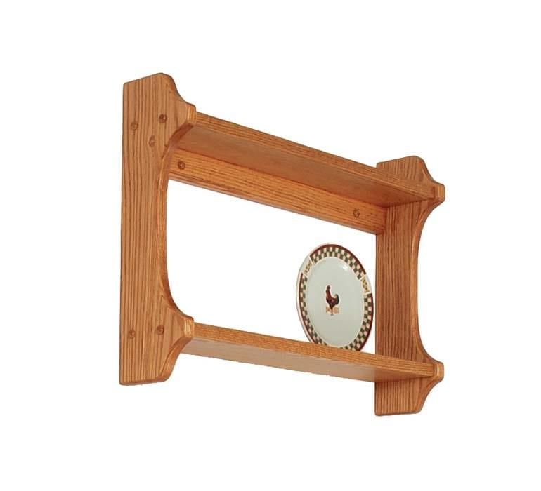 Plate Shelf Herron's Amish Furniture